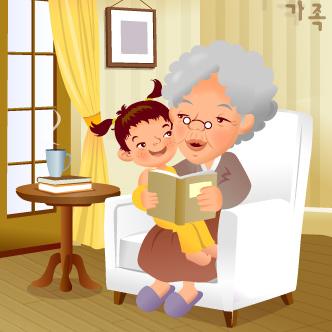 Resultado de imagen para caricatura de una abuela negra y moderna