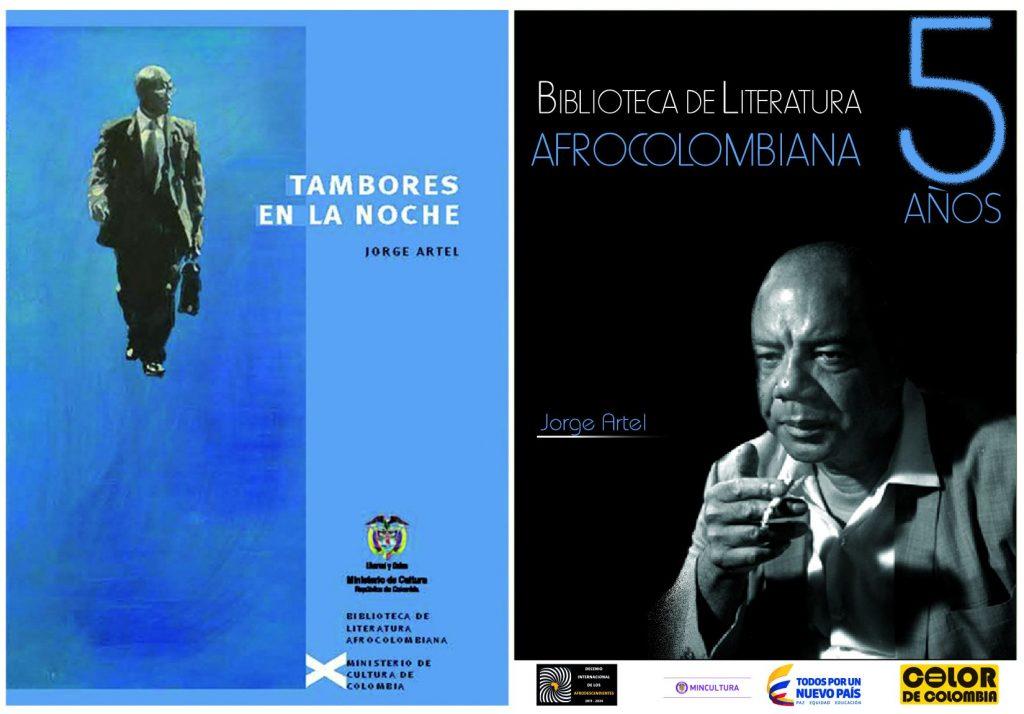 JORGE ARTEL 5  años  de Biblioteca de Literatura Afrocolombiana b