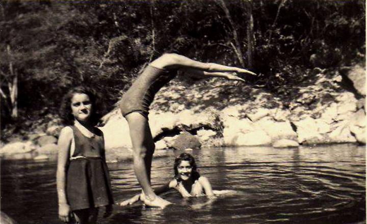 Río Bogotá, año 1950 – El Charquito, entre Alicachin y el Salto del TequendamaSOACHAILUS2
