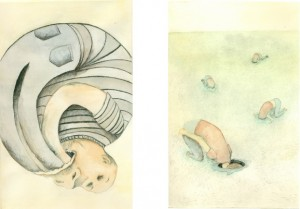 """Serie """"Ceguera"""" , de Ana María Lozano Fernández."""