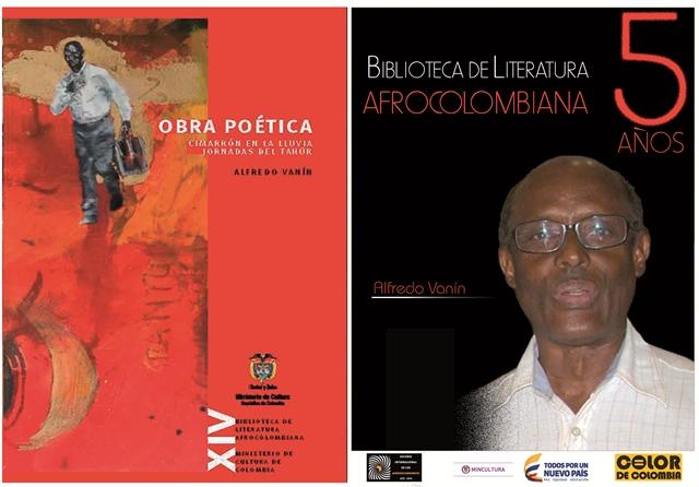 ALFREDO VANIN Tomo XIV Biblioteca Literatura Afrocolombiana