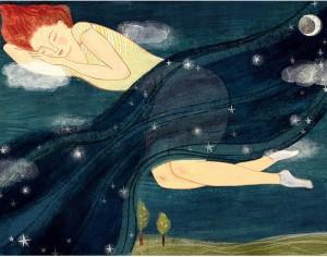 dream,redhead,sleep,nite,illustration,star-ea4e9d387b8fb657a219caca32961e3a_h