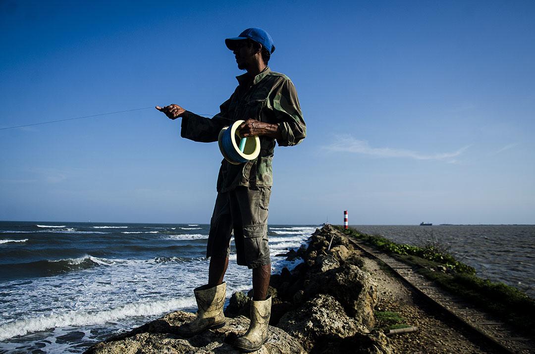 Foto 3. Carlos Andres Cordero Peña.  Entre el rio y el mar