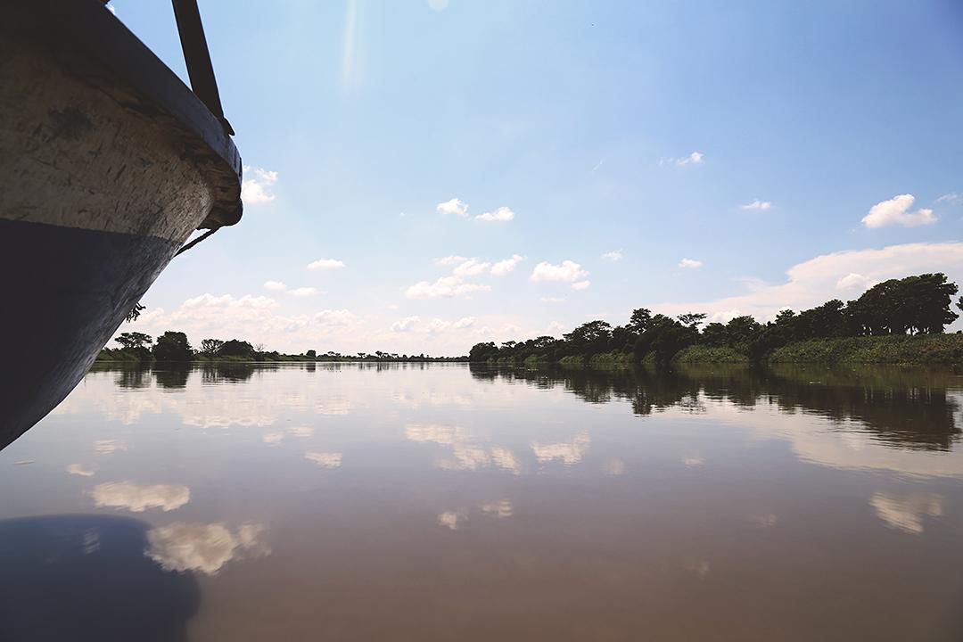 Foto 7. Edgar Alan Rodríguez M. Navegando en la mañana