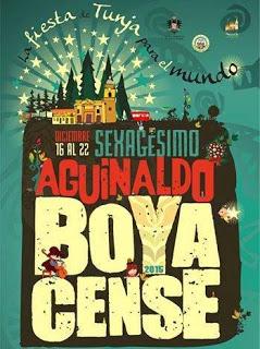 Afiche Aguinaldo Boyacense 2015