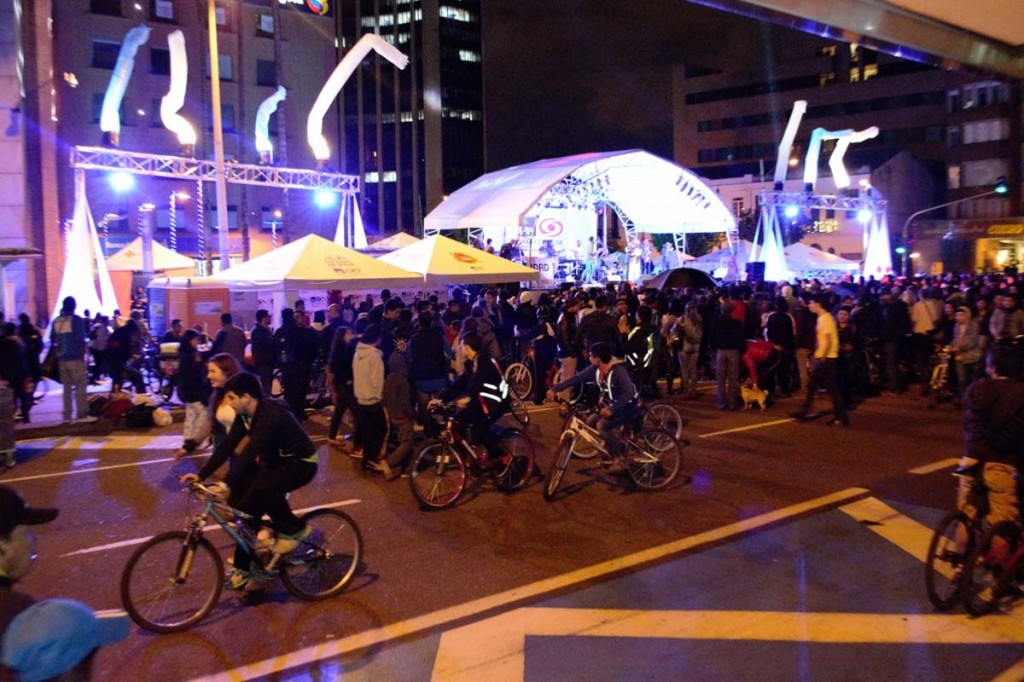 Ciclovía Nocturna Diciembre de 2014