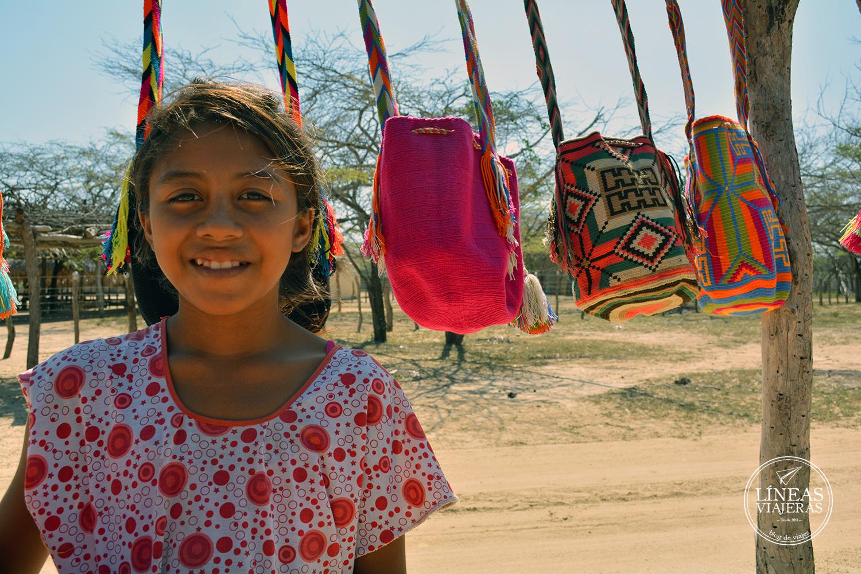 Wayuu. La guajira. Líneas viajeras, blog de viajes