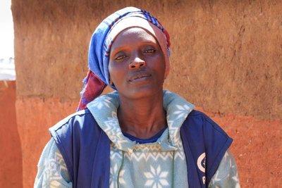 Refugiada y sobreviviente de la violencia sexual trabaja por la paz en Ruanda.