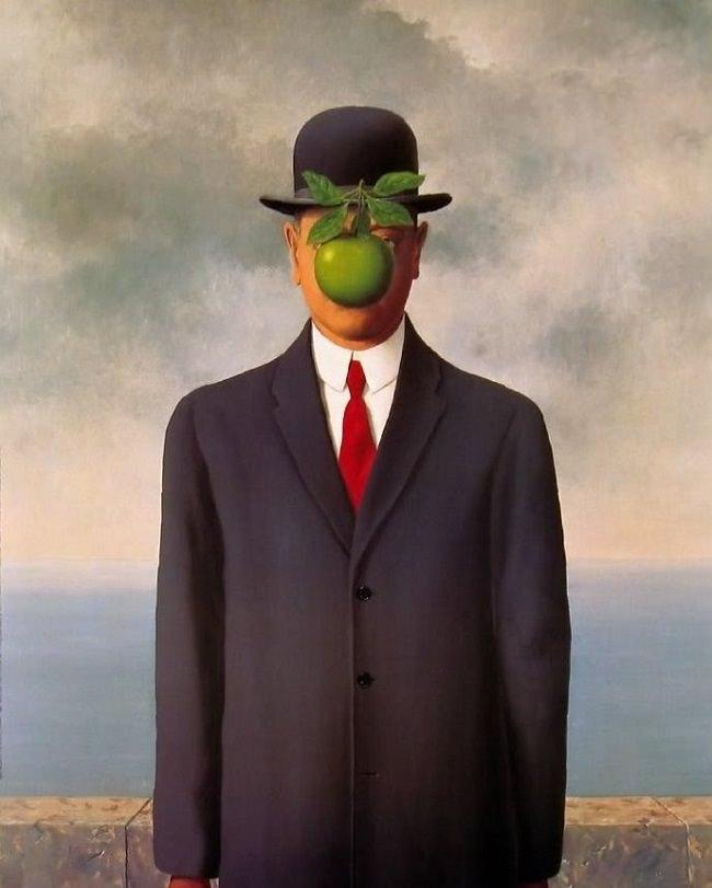 El hijo del hombre. René Magritte