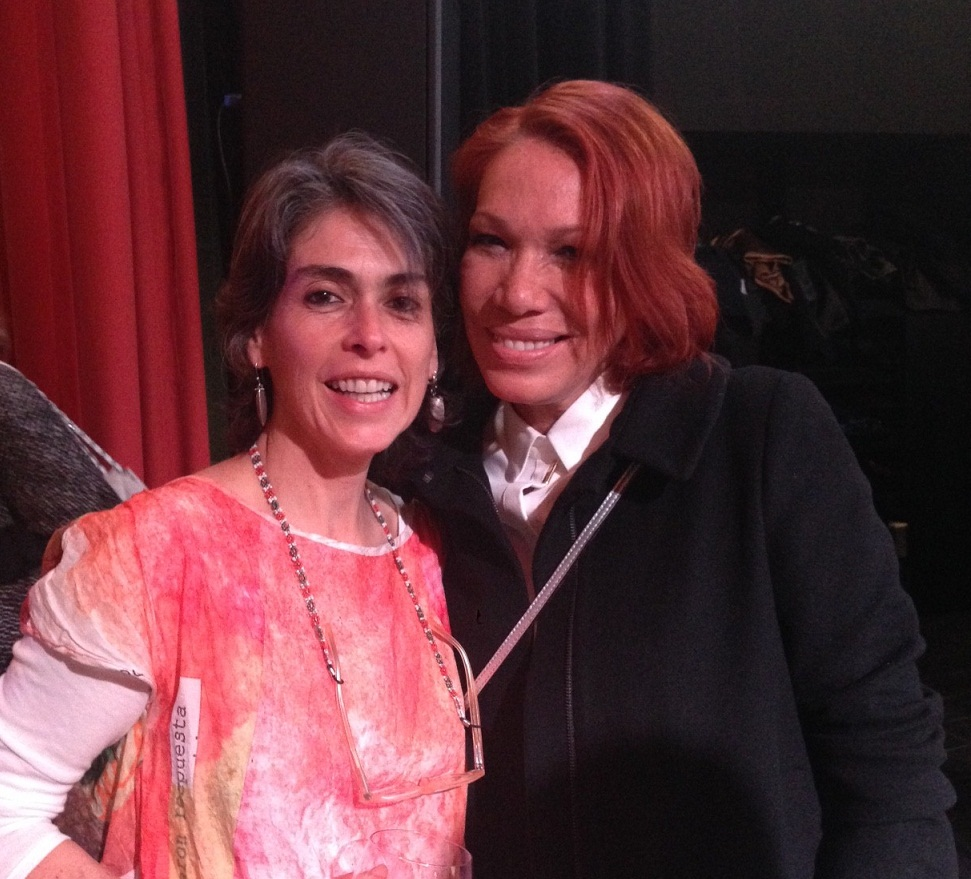 Luz Beatriz Vélez y Leonor Espinosa