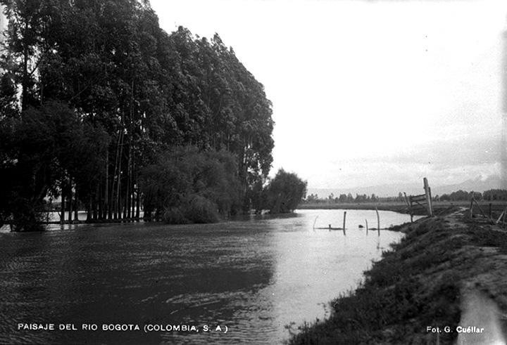 Paisaje del río Bogotá (Colombia) [1929?]  Gumercindo Cuéllar Jiménez Biblioteca Luis Ángel Arango