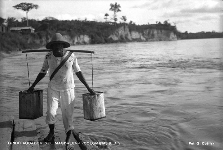 Paisaje río Magdalena (Colombia) [1930?]  Gumercindo Cuéllar Jiménez Biblioteca Luis Ángel Arango
