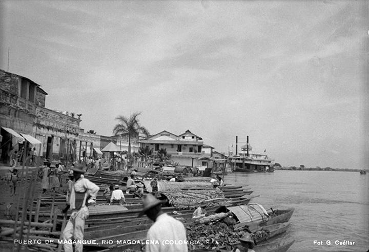 Puerto de Magangue, río Magdalena (Colombia) [1930?]  Gumercindo Cuéllar Jiménez Biblioteca Luis Ángel Arango
