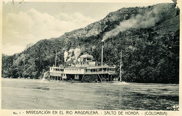 Sin título, (¿1920?). Álbum de tarjetas postales de la Colección Pilar Moreno. Biblioteca Luis Ángel Arango