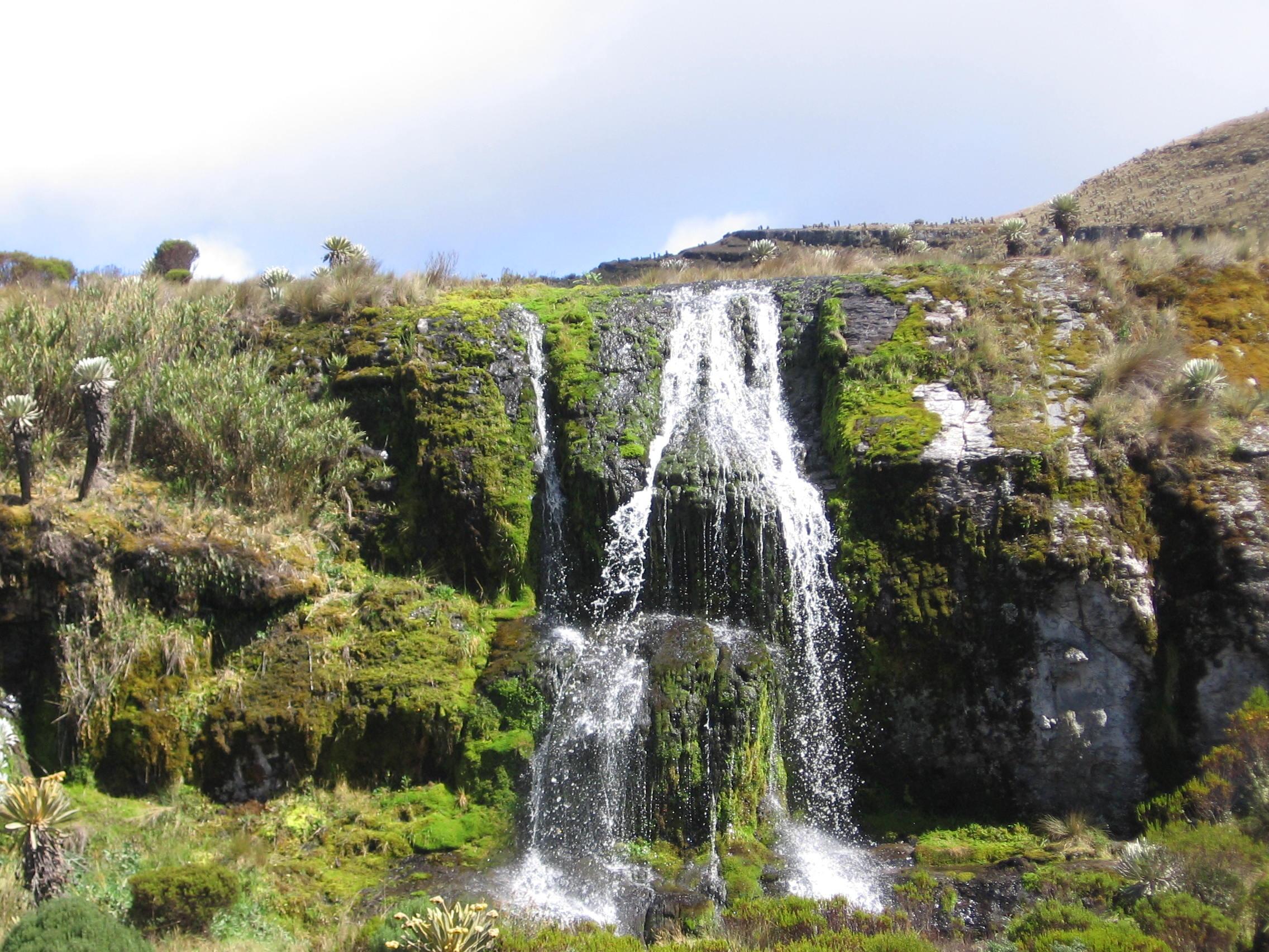 Cascada de Penagos Paramo de Oceta - Manuel galvis rueda