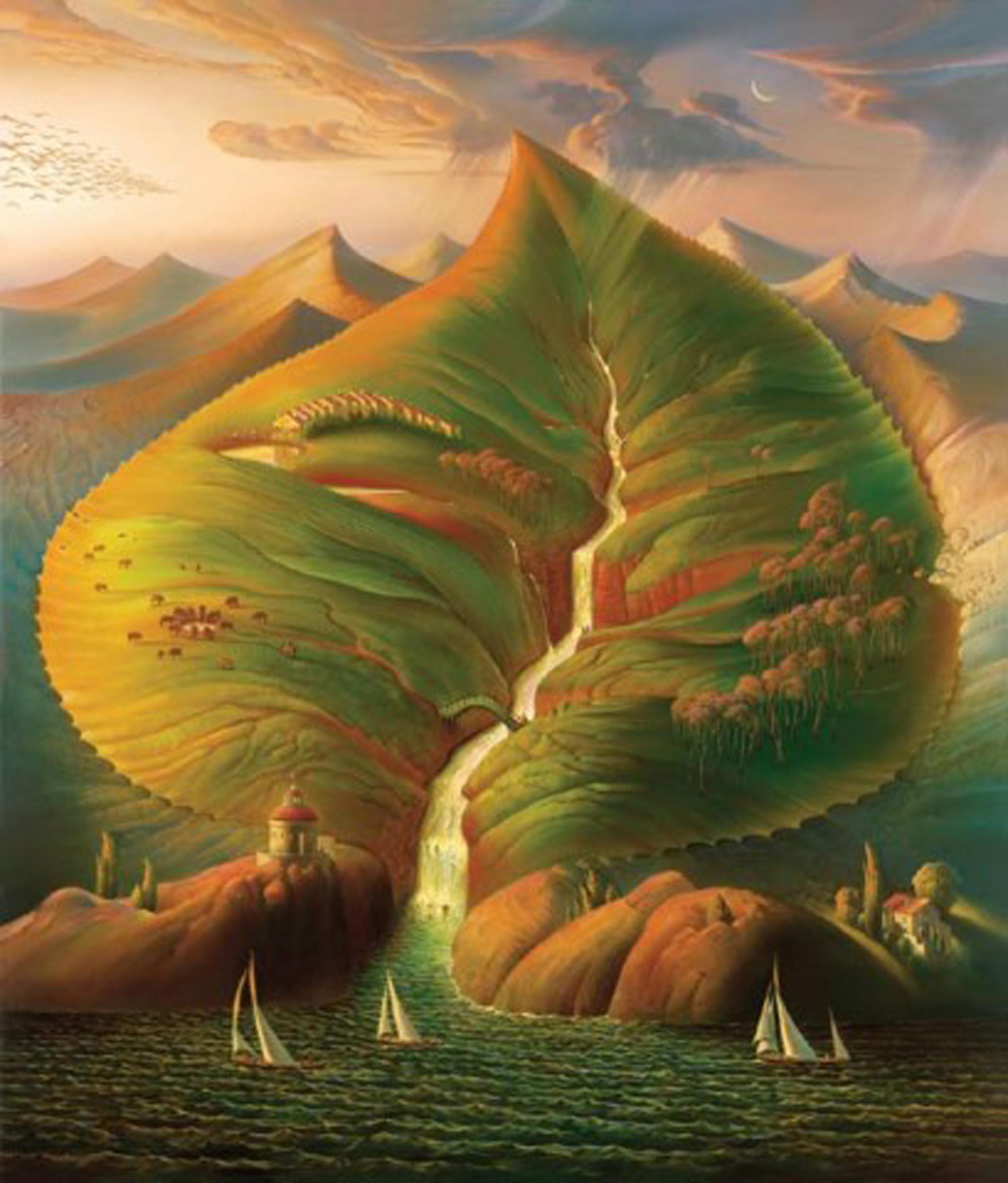 Ocean Sprout-Vladimir Kush