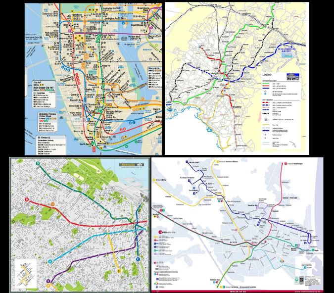 Cómo se diseña un mapa de metro? | Blogs El Espectador