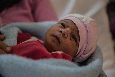 Samar nació pocas horas después de que su madr