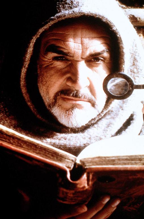 Sean Connery como Guillermo de Baskerville