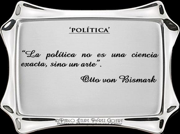 Reflexión 123_Politica_Otto von Bismark