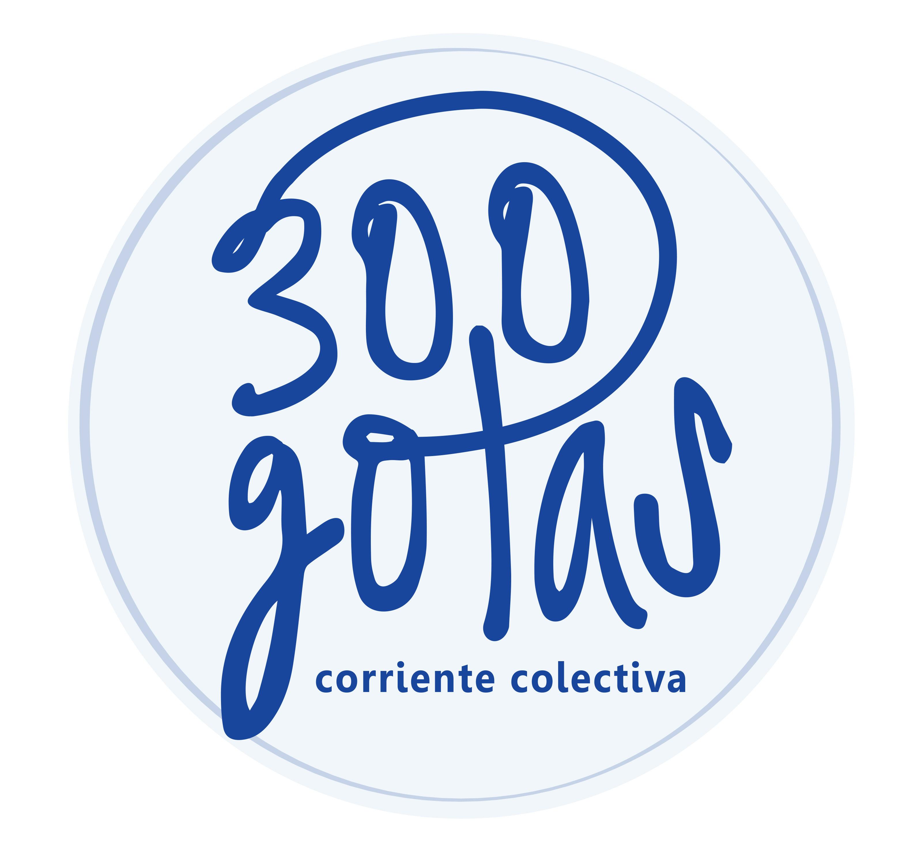 """Fotografía: Logo 300 """"GOTAS"""": Gian Piero Cremaschi"""