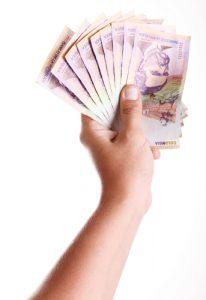 Colombian money