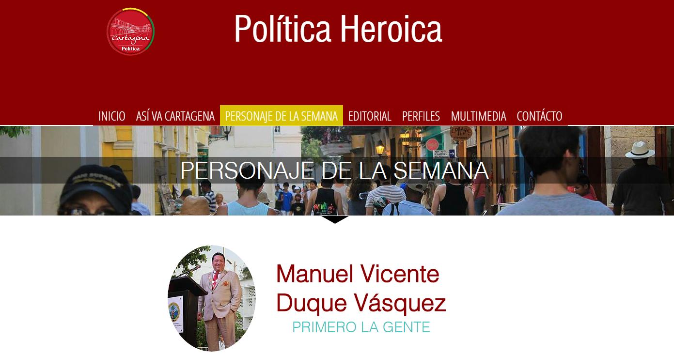 Política Heroica 35