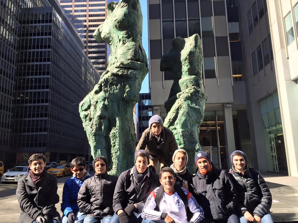 La Delegación del Gimnasio de los Cerros en Nueva York