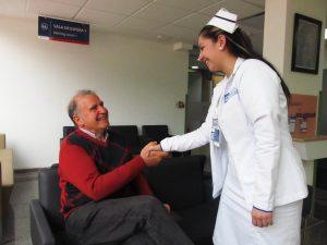 enfermera paciente