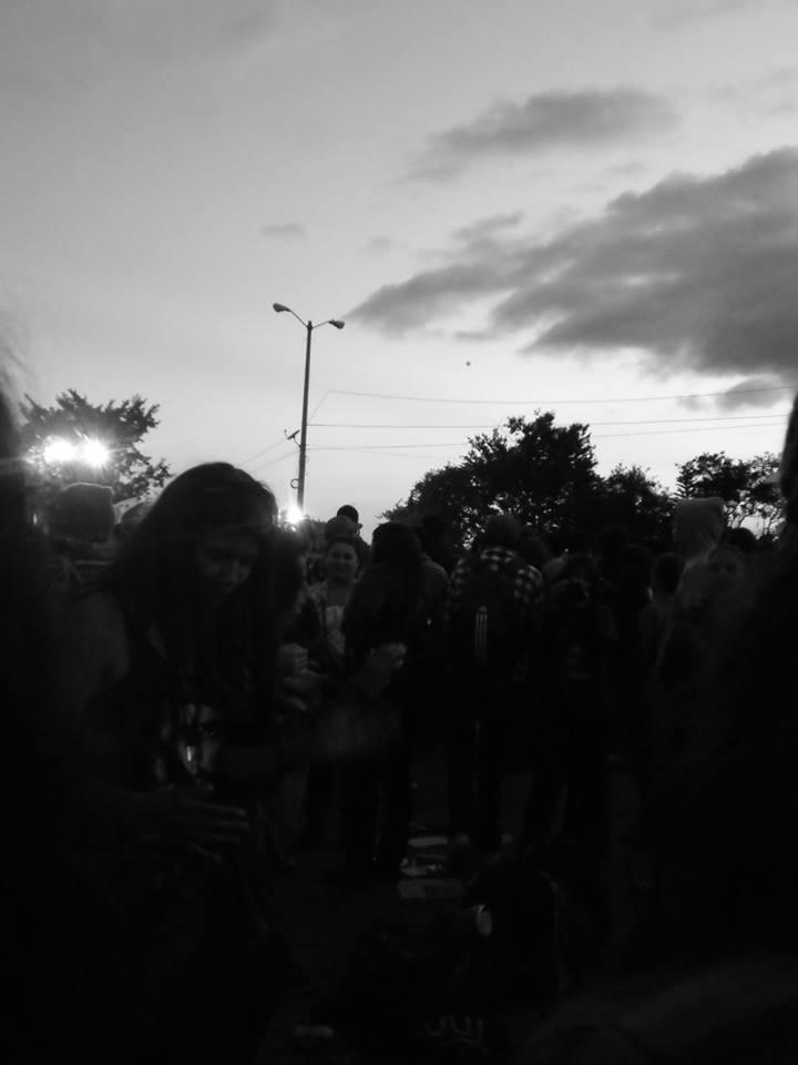entre la fiesta