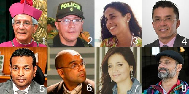 Collage de panelistas III Coloquio b