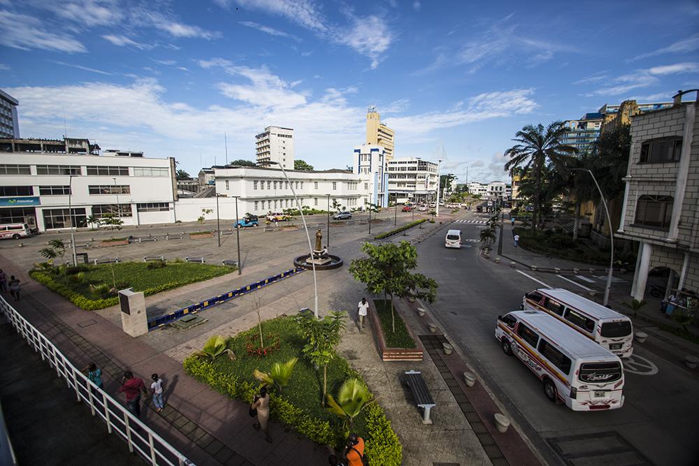 Panorámica del Bulevar de Buenaventura