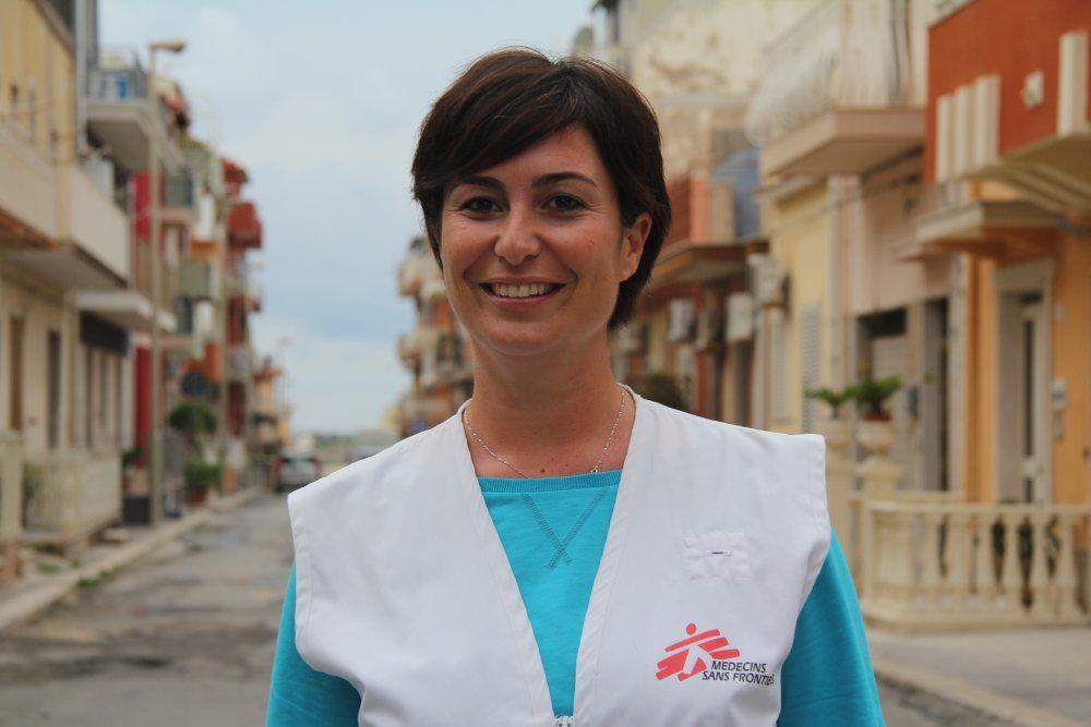 Aurelia Barbieri, MSF psychologist