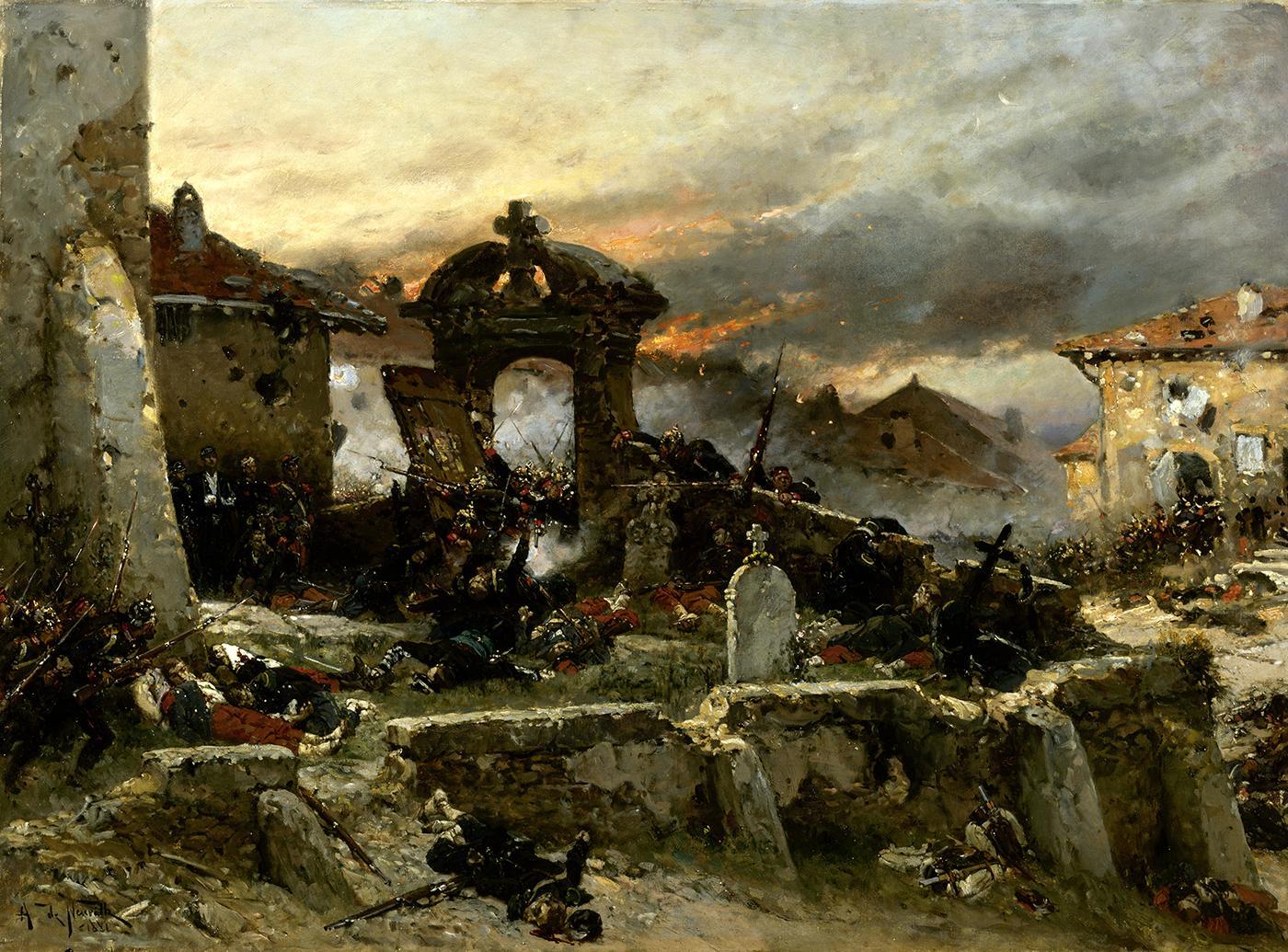 Le cimetière de Saint-Privat