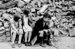 Niños en la destrucción