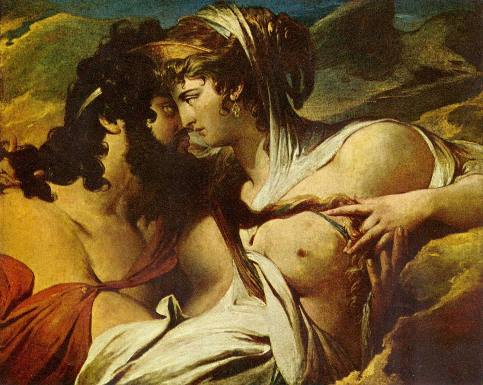 Jupiter y Juno, James Barry, 1790-99