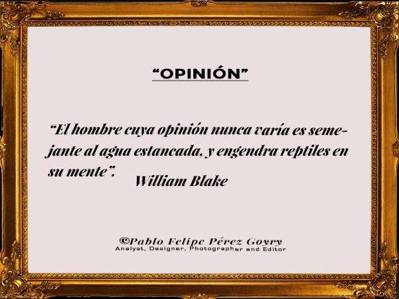 Reflexión 156_Opinion_William Blake