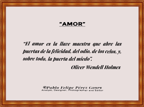 Reflexión 159_Amor_Oliver Wendell Holmes