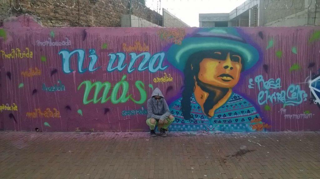Grafiti Rosa Elvira