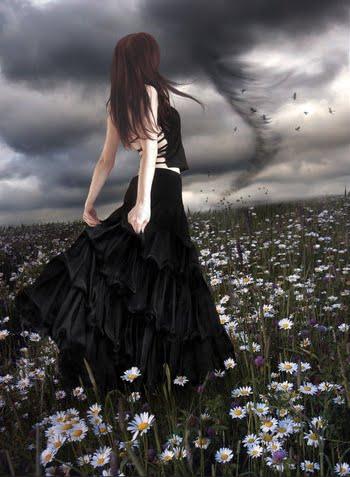 Laura bajo tormenta