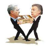 Santos vs uribe