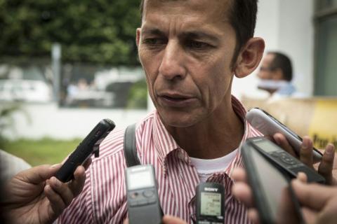Daniel Abril Fuentes, un activista del departamento de Casanare (Colombia) por los derechos humanos y por el medio ambiente, fue asesinado el pasado noviembre. Foto: Cortesía Movimiento Nacional de Víctimas de Crímenes de Estado.