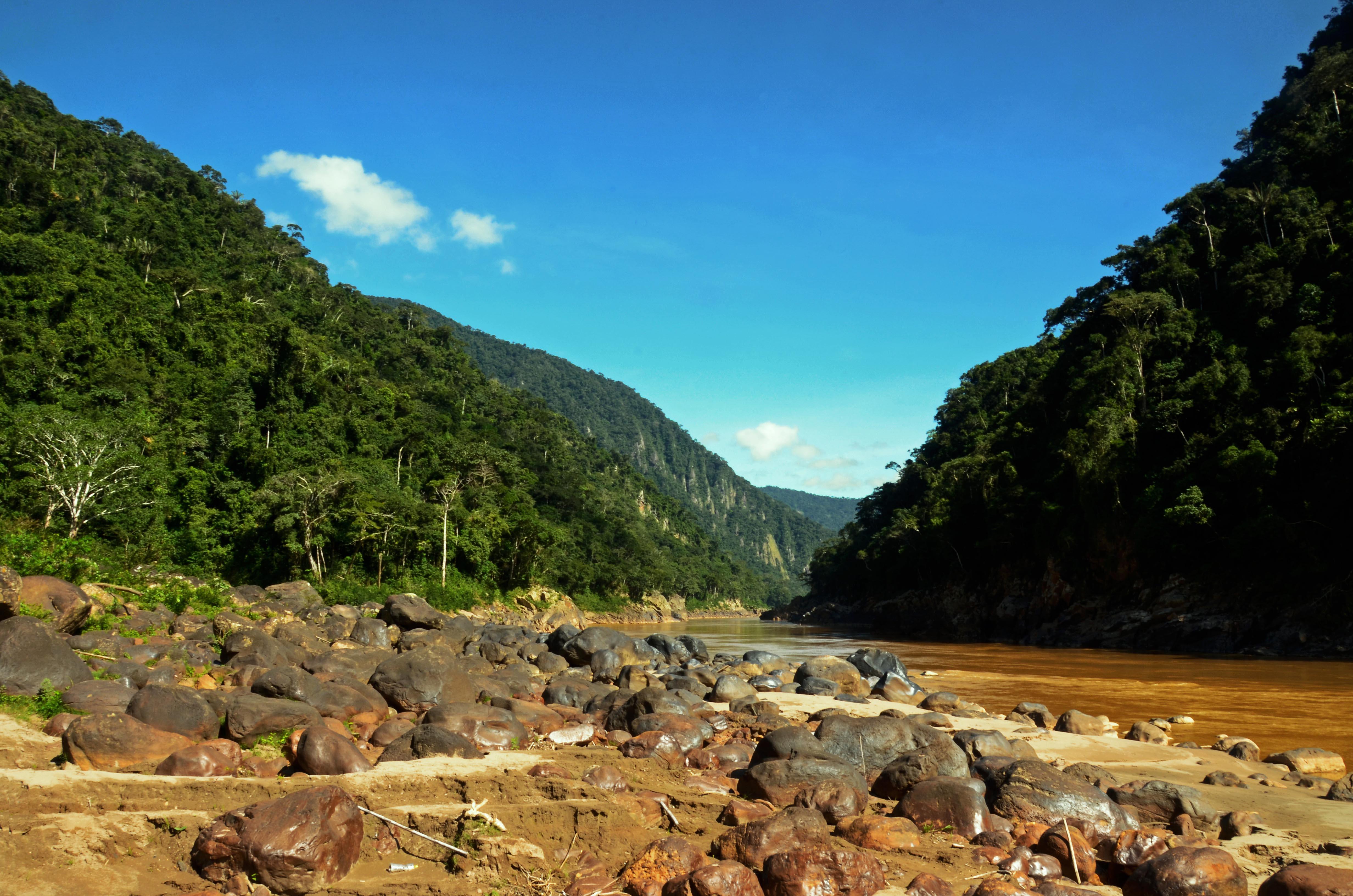 El cañón del Beu Reserva de la Biósfera Pilón Lajas. Foto: Eduardo Franco.