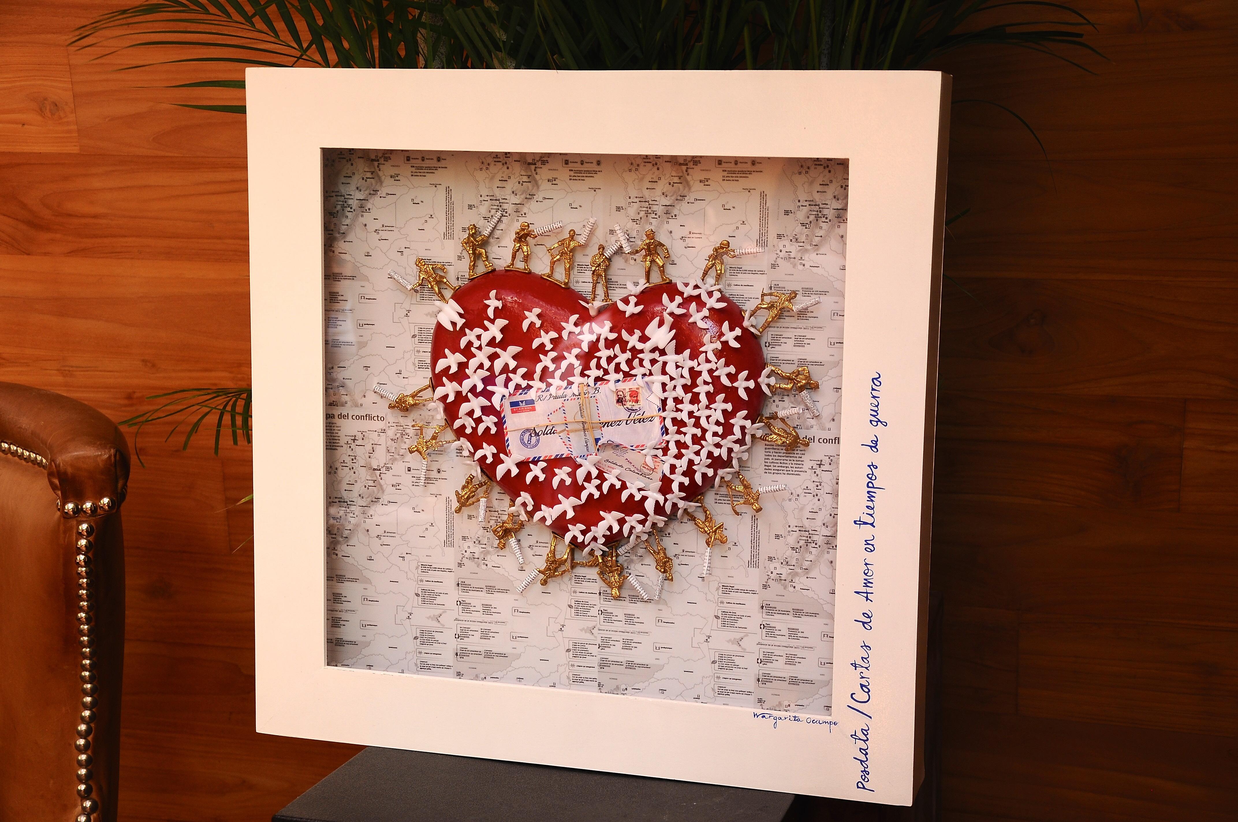 """""""Cartas de amor en tiempos de guerra"""". Obra de Margarita Ocampo (Fabularia)"""