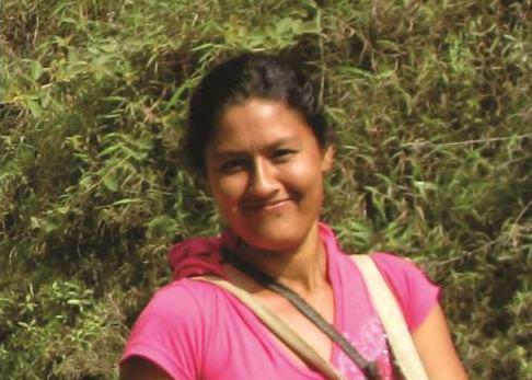 Adelina Gómez Gaviria, una activista en contra de la minería en el departamento de Cauca (Colombia), fue asesinada en 2013. Foto: Cortesía Movimiento Nacional de Víctimas de Crímenes de Estado.