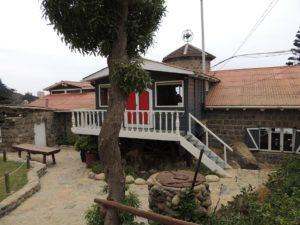 Casa de Pablo Neruda en Isla Negra.