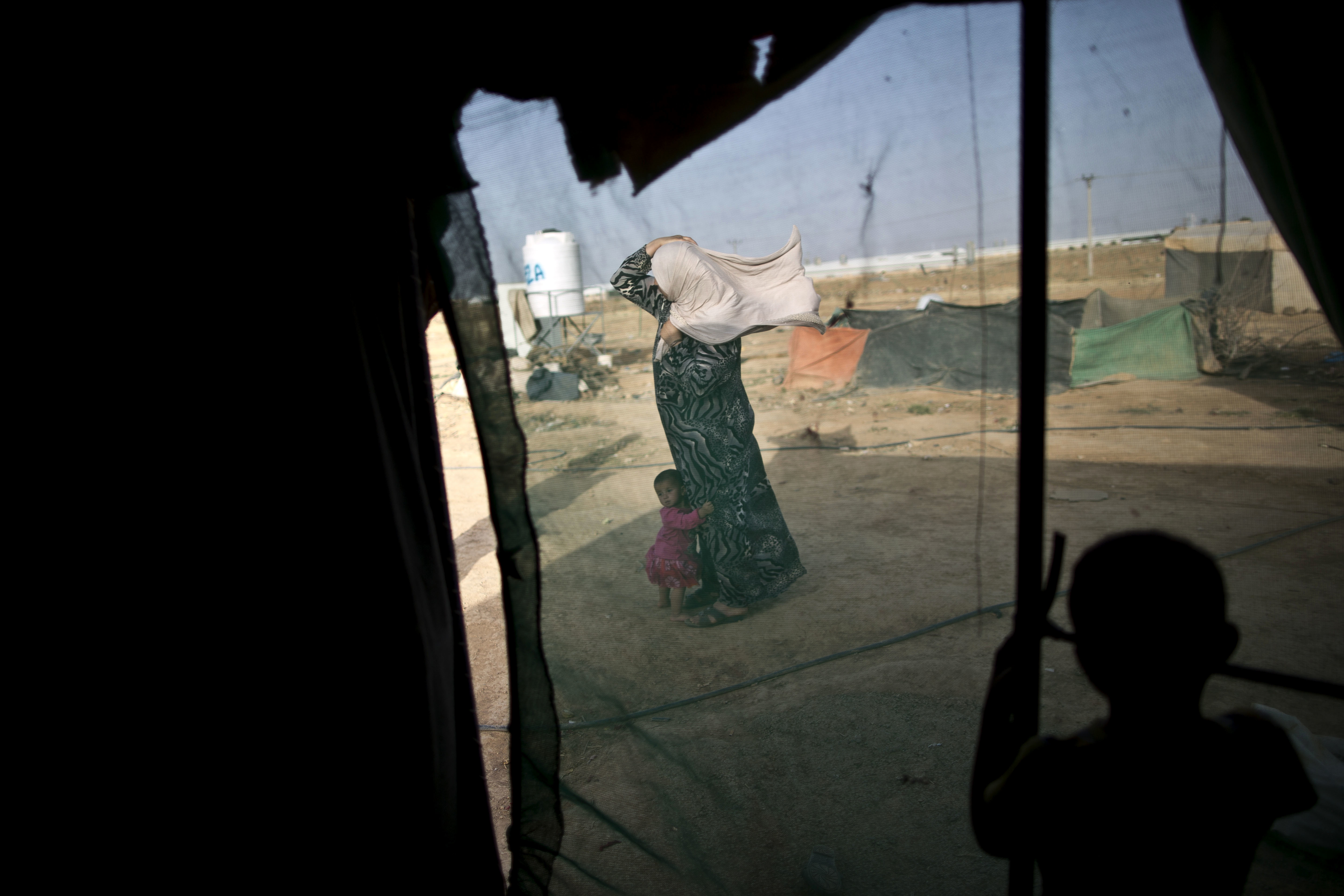 "MSF Press Release: Syrian Refugees Stranded in the ""Berm"" Jordan"