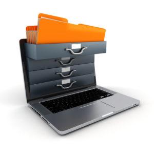 3d files in a laptop sreen