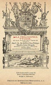 """""""La Filosofía Vulgar"""" de Juan de Mal Lara, libro de refranes publicado en 1568."""