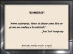 Reflexión 166_Dinero_José Luis Sampedro